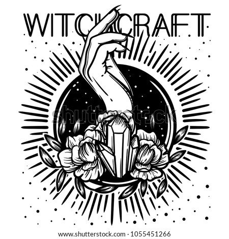 witchcraft witch hand  magic