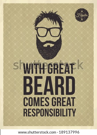 with great beard comes great