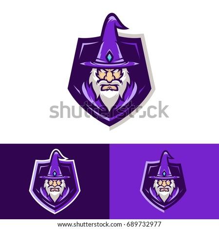 wizard   vector logo icon