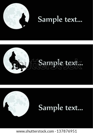 wolf and night sample text