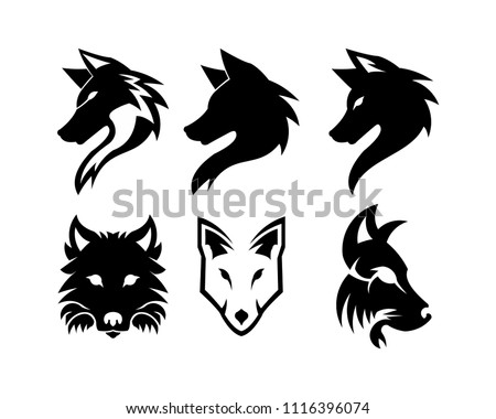 Free Wolves Vector Download Free Vector Art Stock Graphics Images