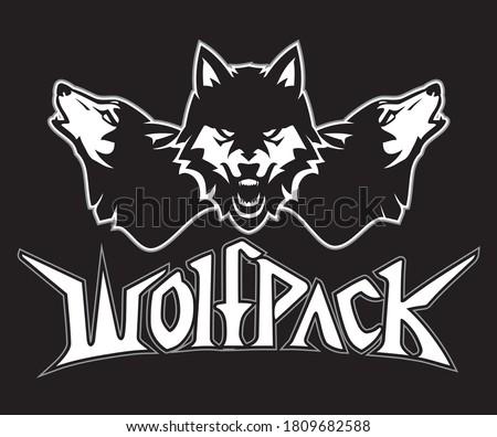 wolfpack lettering symbol