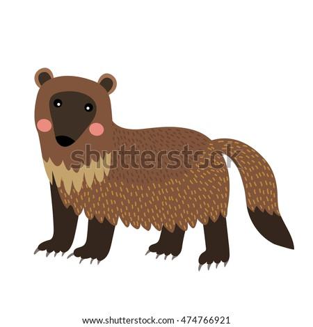 wolverine animal cartoon