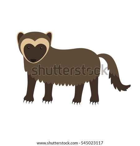 wolverine animal cartoon