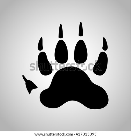 wolverine paw print icon