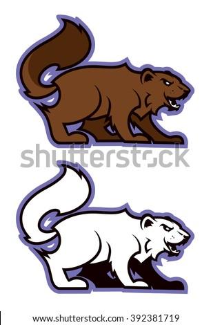 wolverine sport mascot