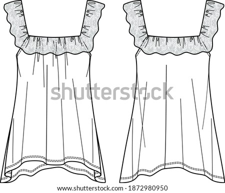Woman blouse sketch, blouse CAD, top sketch for woman, blouse drawing, woman clothes sketch, woman appeal, top CAD, wrapped blouse sketch, top technical drawing, female flat