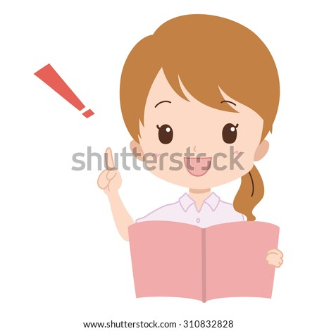 woman. book.
