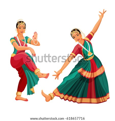 woman dancer in national indian