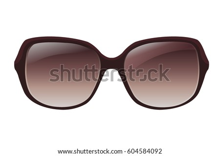 woman glasses vector