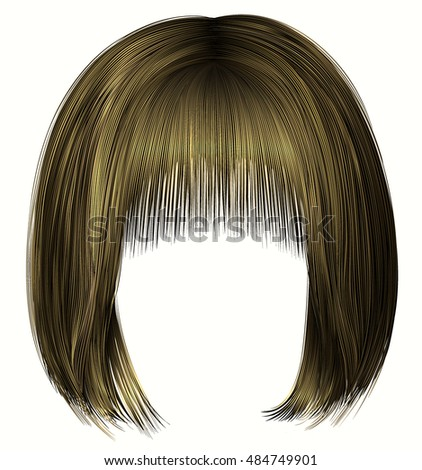 woman  hairs bob kare with