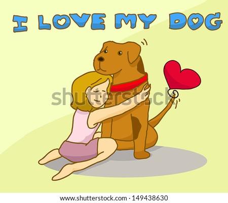 Αγαπώ τον σκύλο μου...