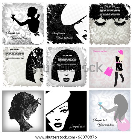 woman image  fashion background