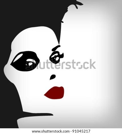 woman image  fashion background