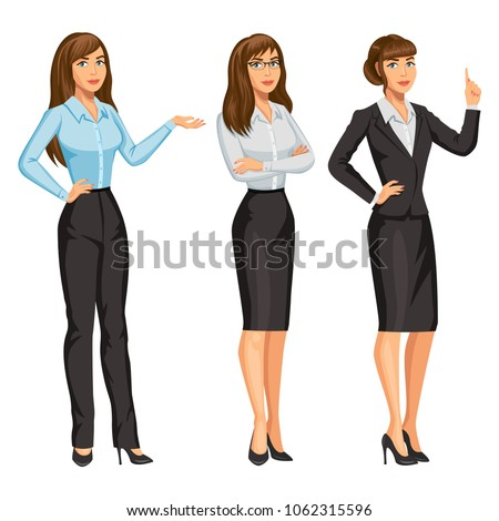 woman in business suit with