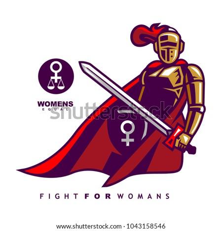 woman knight symbol