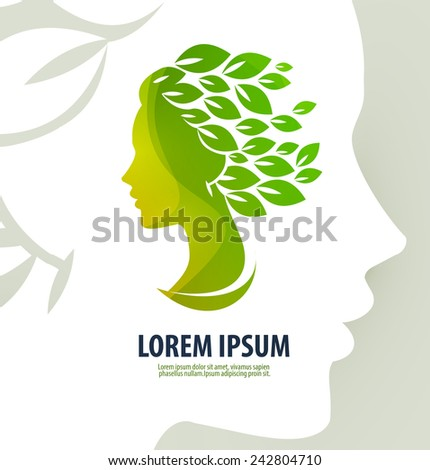 woman profile beauty