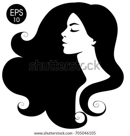 woman's black silhouette