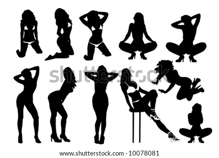 woman silhouettes 4
