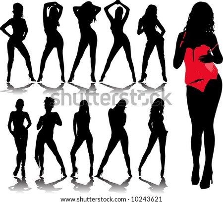 woman silhouettes 6