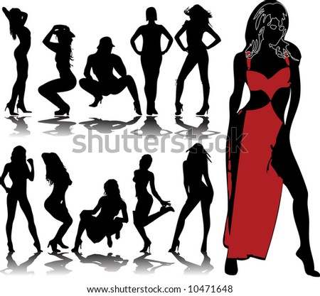 woman silhouettes 8