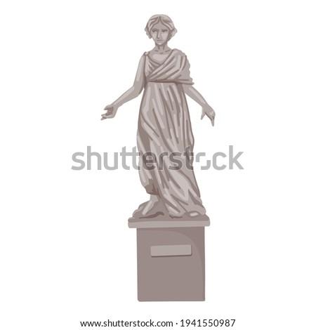 woman statue  landmark  museum