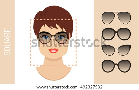 woman sunglasses shapes for
