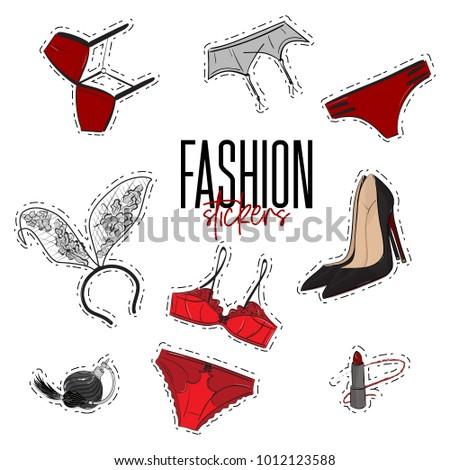 woman trendy fashionable
