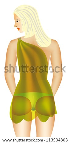 Beauty Woman With A Beauty Body Stock Image 1543537 Male