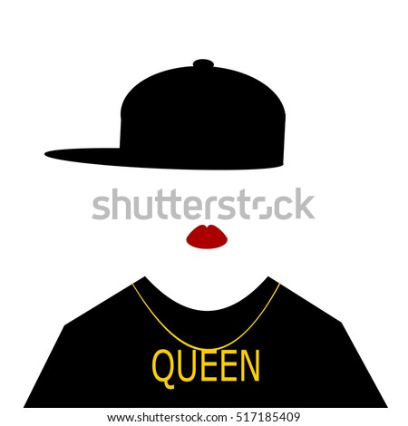 woman with baseball cap
