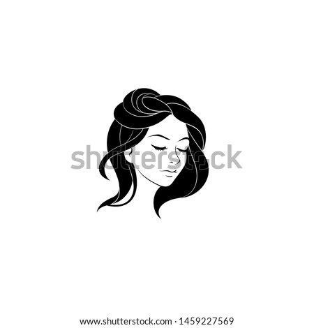 woman with beatiful hairstyle