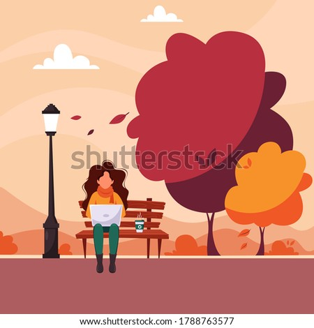 woman with laptop sitting on