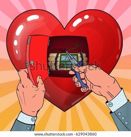 womans heart bomb disposal