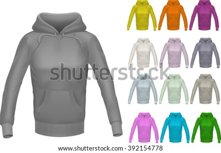 womans hoodie in many color