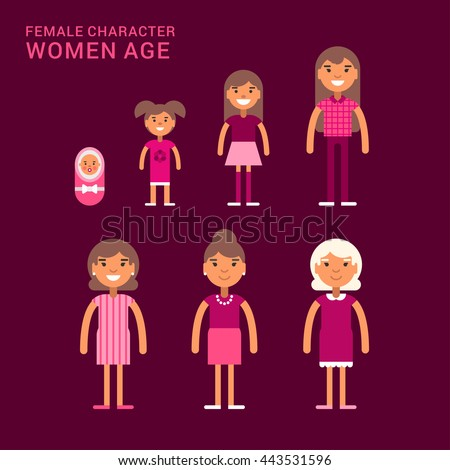 women age life cycle
