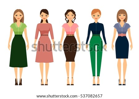 women dress code romantic style