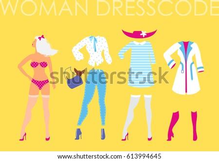 women dress code romantic style