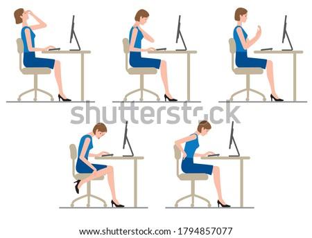 women get tired of computer