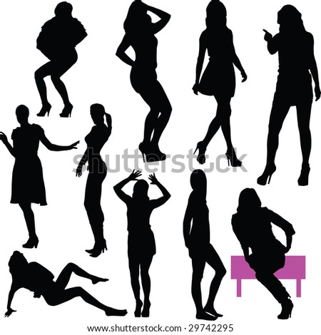 women grace - stock vector