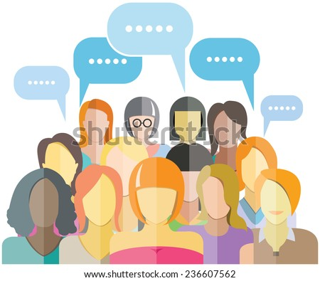 women group social networking