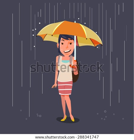 women holding umbrella in