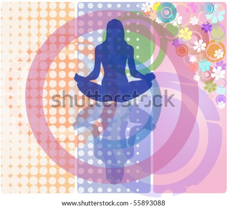 women in meditation