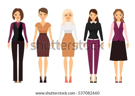 women in office dress code in