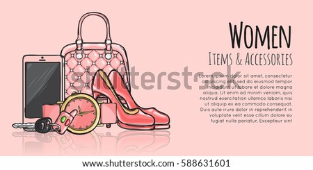women items and accessories web