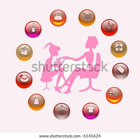 women life Manicurist filing client's nails