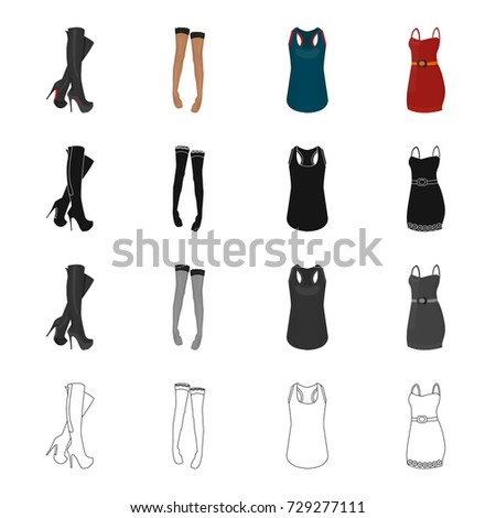 women's boots  stockings  t