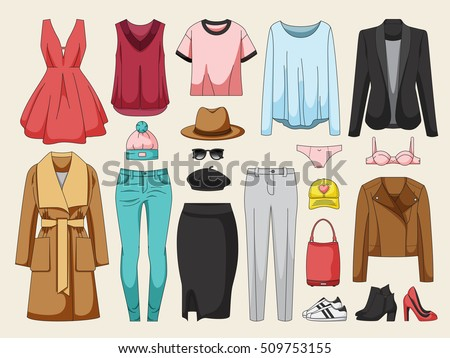 women's clothing collection