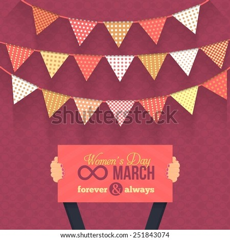 women's day 8 march card