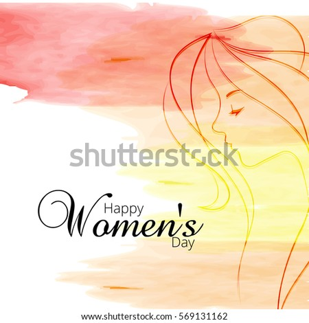 women's day vector design
