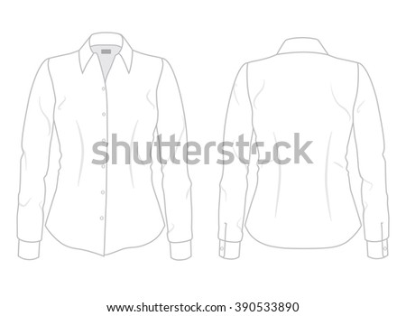 women's dress shirt with long